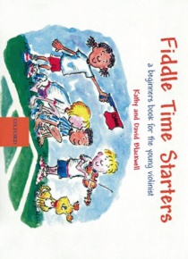 Fiddle time starters. A begginers book for the young violinist
