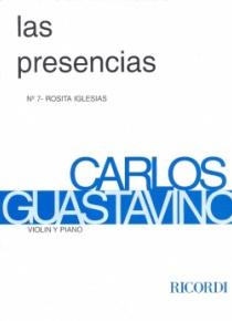 Las presencias, nº 7: Rosita Iglesias (vn)
