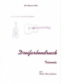 Dreifarbendruck, per a flauta, viola i guitarra