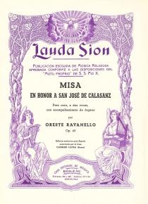 Misa a San Jose de Calasanz