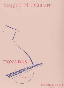 Tonadas for piano vol. IV