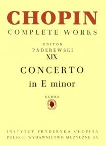 Piano concert nº 1 in E minor op. 11 for piano and orchestra