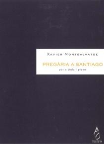 Pregaria a Santiago, para viola y piano