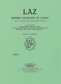 LAZ. Método de solfeo 1º acompañamiento, by Lambert/Alfonso/Zamacois