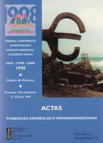 Actas del 18º Congreso de la Asociación Internacional de Bibliotecas Musicales
