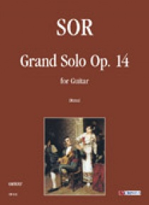 Grand Solo Op. 14 for Guitar
