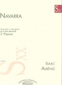 Navarra (Transcription for two pianos)