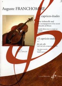 12 caprices-études vol. 1-Billaudot
