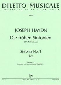 Symphonie D-Dur Hov I: 104