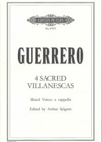 4 <i>villanescas</i> sacres