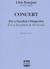 Concerto for saxophon and orchestra