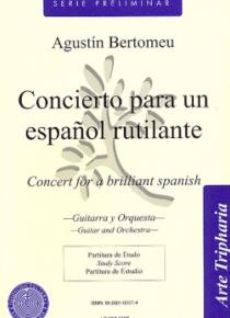 Concierto para un español rutilante
