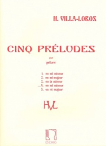 Prelude nº 4, for guitar