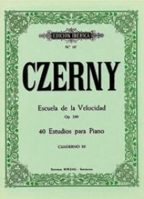 Escuela de la velocidad Op.299 Vol.III, de Karl Czerny