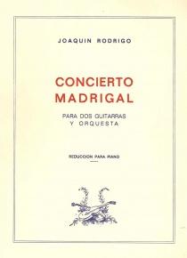 Concierto Madrigal ( Red, Piano)
