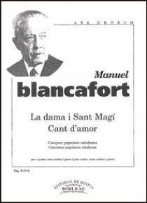 La dama i Sant Magí - Cant d'amor, de Manuel Blancafort