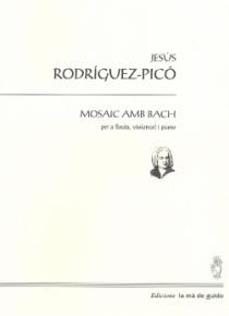 Mosaic amb Bach