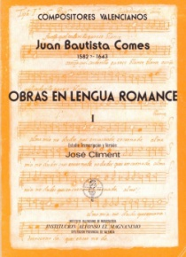 Obras en lengua romance Vol.I