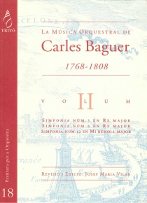 Carles Baguer's Orchestral Music, vol.II (Symphonies nos. 5, 6 & 12)