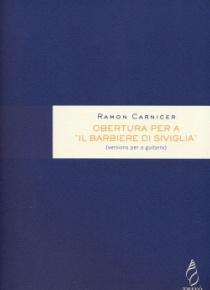 Obertura per a Il barbiere di Siviglia, versiones para guitarra