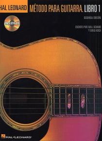 Metodo Para Guitarra Hal Leonard: Libro 1 (Book And CD)