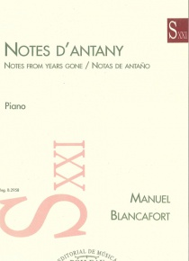 Notes d'antany