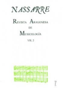 Nassarre. Revista Aragonesa de Musicología, VII, 2