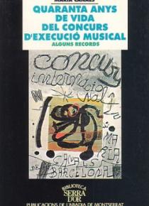 Quaranta anys de vida del concurs d'execució musical. Alguns records.