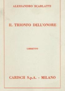 Il trionfo dell'onore (libretto)