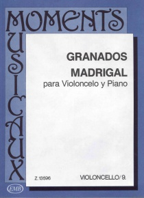 Madrigal for violoncel and piano