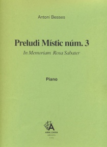 Mystic prelude no. 3, for piano