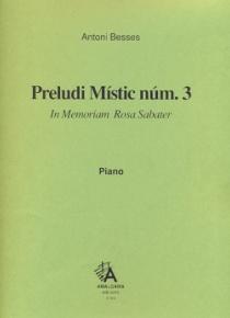Preludio místico nº 3, para piano