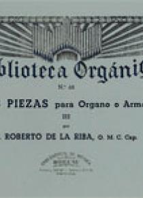 Tres piezas Vol.3º, by Roberto De La Riba