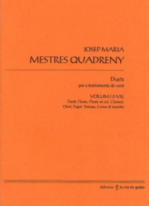 Duets for wind instruments, vol. 1 (I - VII)
