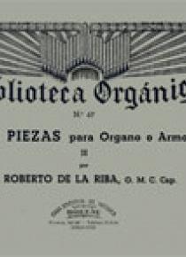 Tres piezas Vol.2º, de Roberto De La Riba