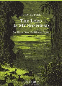 The Lord is my shepherd (SATB) org