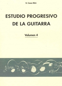 Estudio progresivo de la guitarra, vol.4