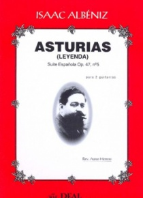 Asturias, op. 47 nº 5 (for 2 guitars)