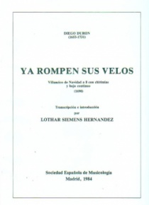 Ya rompen sus velosChristmas Villancico for 8 voices with shawms and continuo