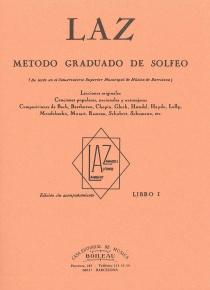 LAZ, Método de Solfeo Vol.1º, de Lambert/Alfonso/Zamacois