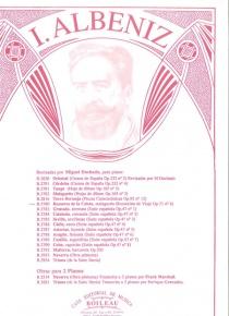 Rumores de la Caleta, de Recuerdos de viaje, op.71, nº 6