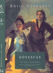 Goyescas, opera in three tableaux