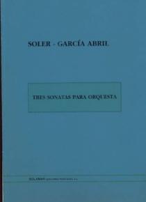 Tres sonatas para orquesta