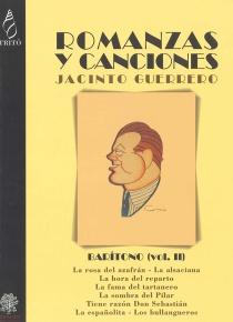Romanzas y canciones - Barítono II