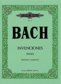 Invenciones a 2 y 3 voces, de Johann Sebastian Bach