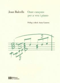 Onze cançons per a veu i piano