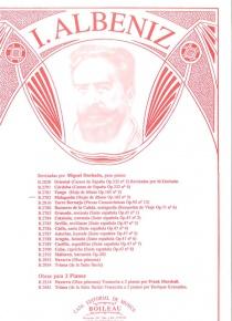 Malagueña, de Hojas de álbum, op. 165, no. 3