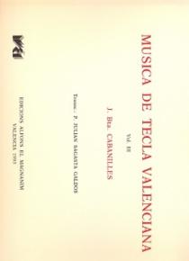 Música de tecla valenciana vol. 3