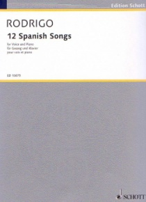 12 Spanish songs