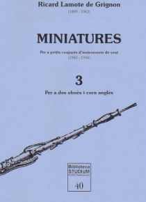 Minatures, vol. 3